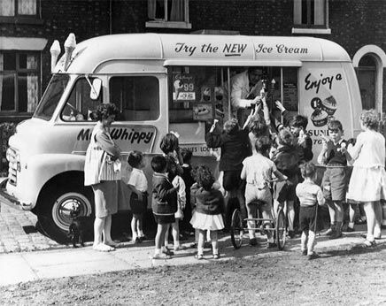 Mr Whippy ice cream van.