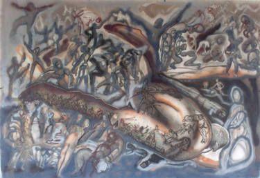 Dustography III, http://www.saatchiart.com/art/Painting-Dustography-III/43191/2360106/view