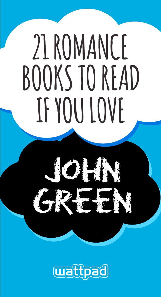 21 free teen romance books to read if you love author John Green. #wattpad