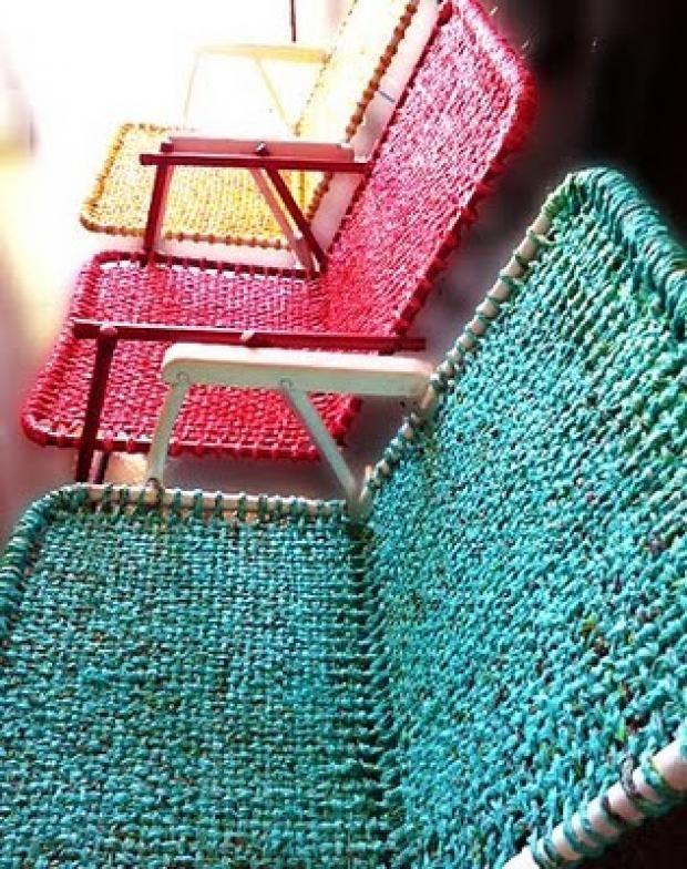 Rosely Pignataro: Reciclando sacolinhas plásticas