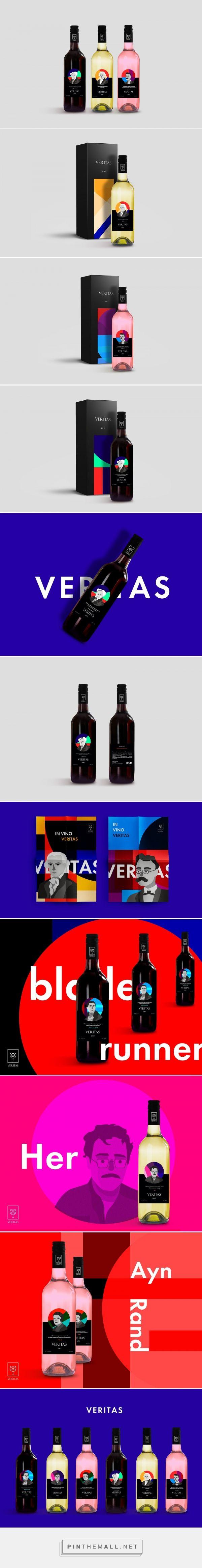Veritas Wine - Packaging of the World - Creative Package Design Gallery - http://www.packagingoftheworld.com/2017/10/veritas.html