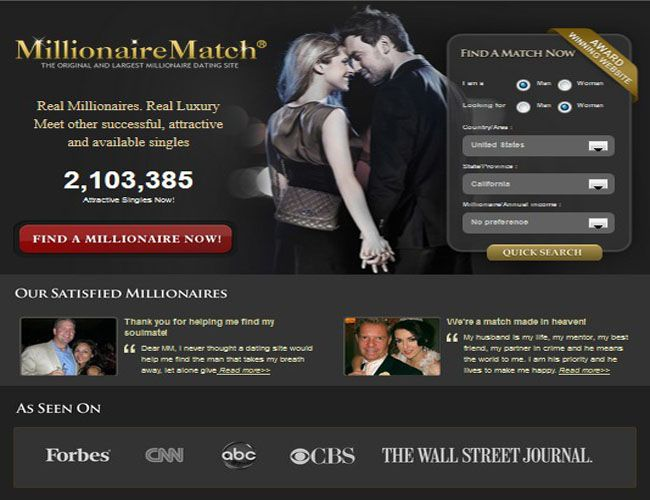 free dating websites millionaires pie Dating for millionaires is part of the online connections dating network, which includes many other general and rich dating sites as a member of dating for millionaires, your profile will automatically be shown on related rich dating sites or to related users in the online connections network at no additional charge.