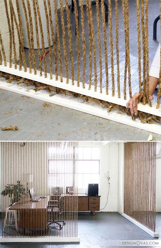 Как разделить комнату на две зоны? 30 потрясающе красивых идей | #дизайн #зонирование #интерьер Круто