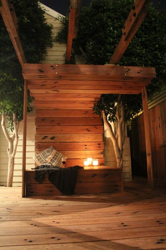 Railway sleepers can make really beautiful decking their for Garden decking sleepers