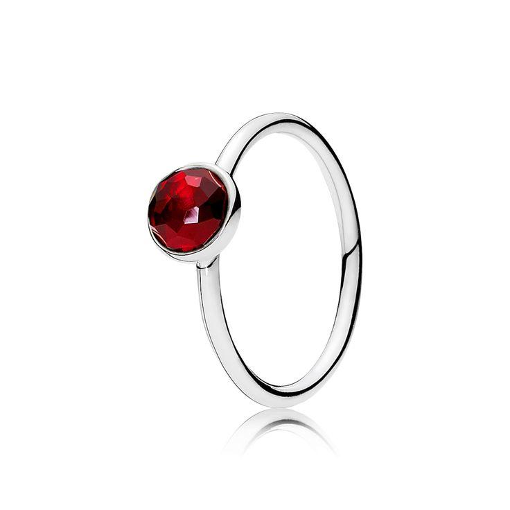 PANDORA | July Droplet Ring