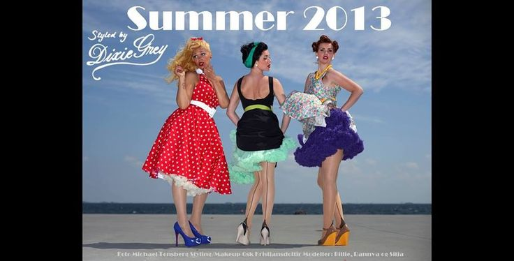 Hot Summer - Dixie Grey gals posing!