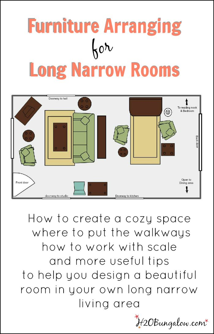Create A Beautiful Space Today In Your Long Narrow Living Room.