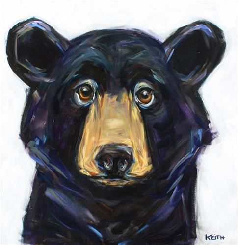 """Daily Paintworks - """"Timmy"""" - Original Fine Art for Sale - © Kandice Keith"""