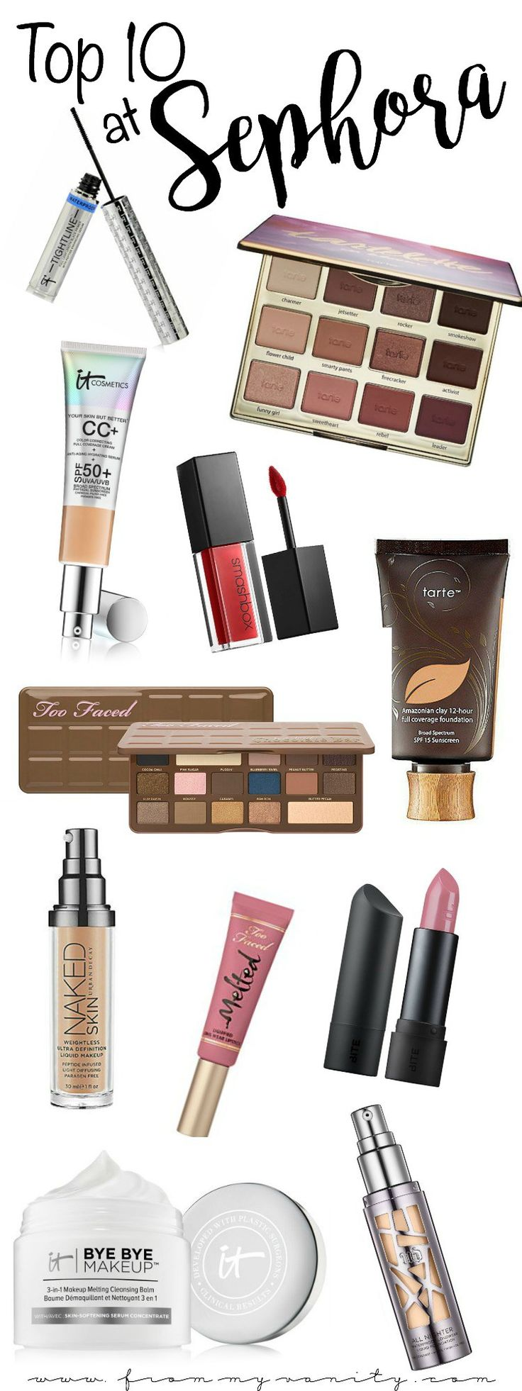 The Top 10 Sephora recommendations you need to get!