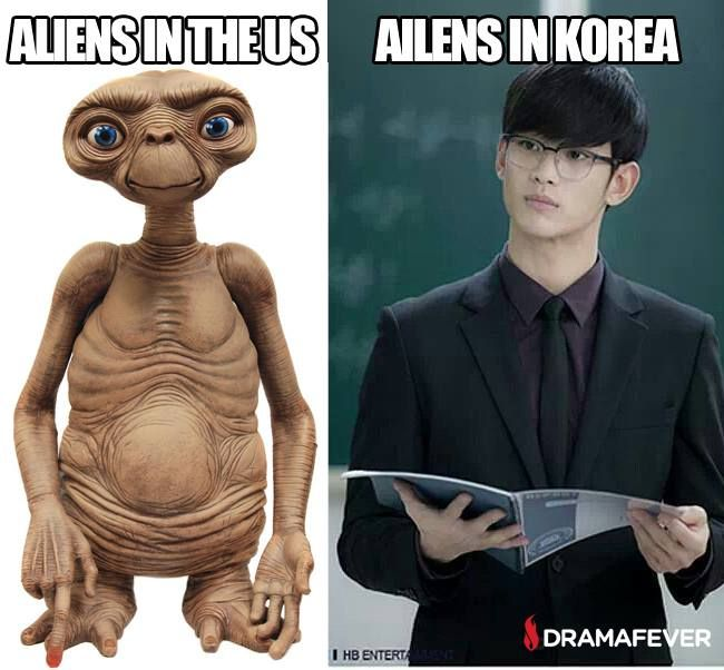 buahaha!!! n u wonder y so many people like asian everything... -- My Love from Another Star, My Love from the Star