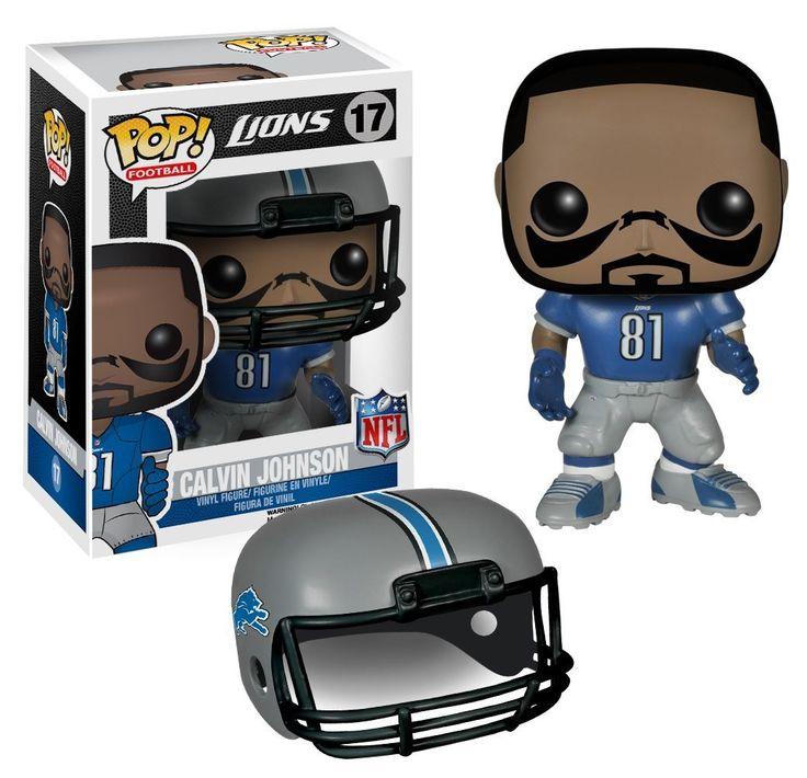 NFL : Calvin Johnson Vinyl Figure