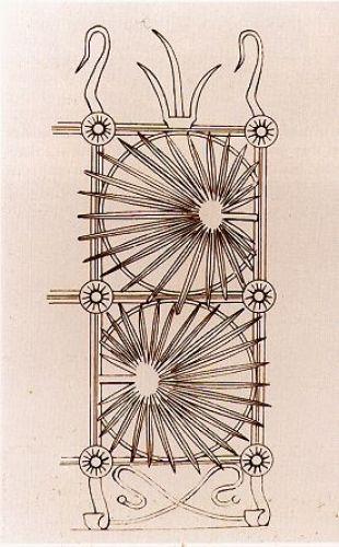 Casa Vicens / Hierro forjado / Diseño de la verja de hierro forjado