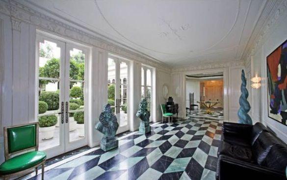 Kelly Wearstler Home Beverly HIlls CA Marble Floored Entry Gallery