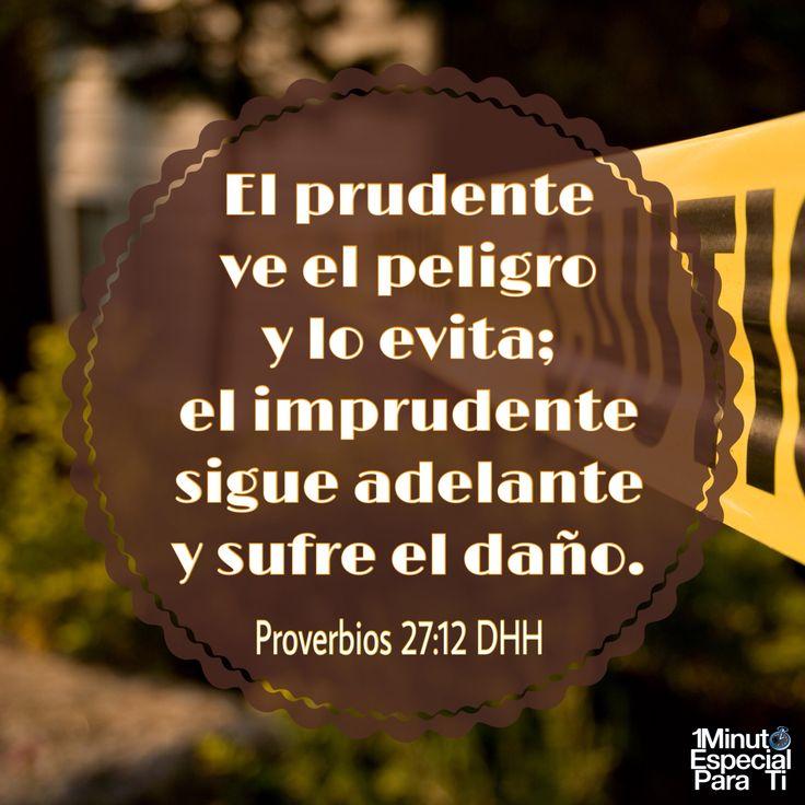 Proverbios 27:12