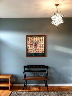 Benjamin Moore Charlotte Slate For Dining Room Fun With