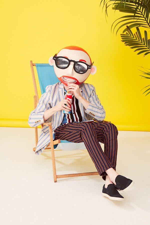 Holiday Geek #menswear #stripes #geek #TheChicGeek