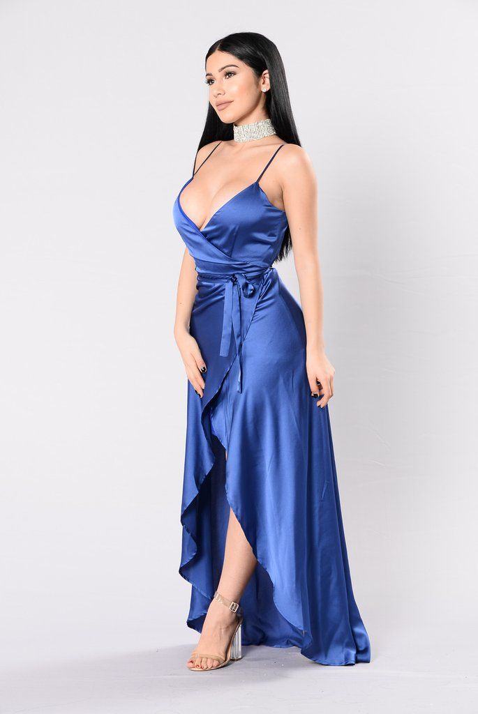 Fantasy Queen Dress - Midnight Blue