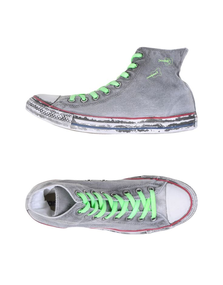 iconische Converse limited edition  high-tops herensneakers (grijs)