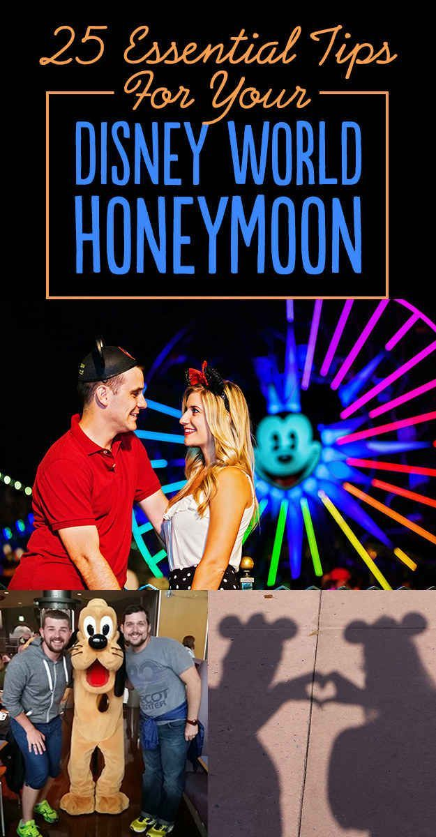25 Tips For A Magical Disney World Honeymoon