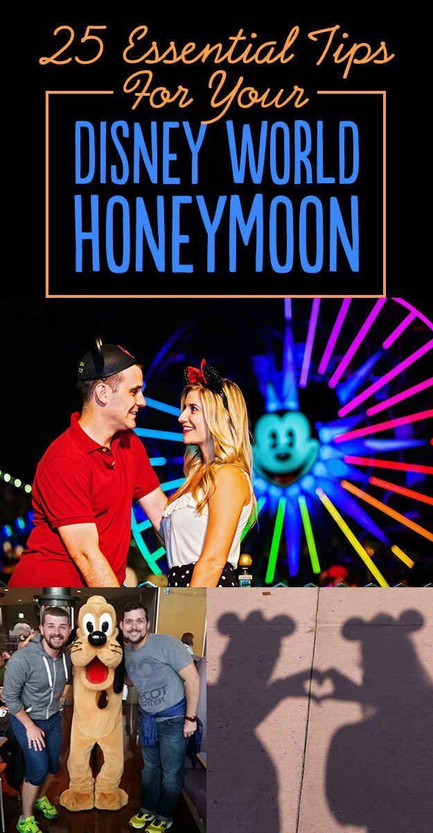 25 Tips For A Magical Disney World Honeymoon. Idk they had a disney honeymoon registry!! Great idea