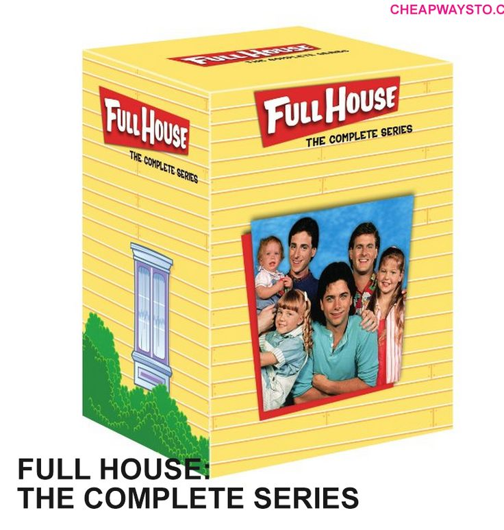 Best Price on Amazon today! $45 for Full House: The Complete Series Collection DVD box set