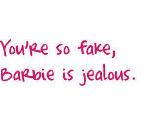 The plastics  mean girls fake people