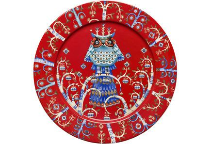 Iittala Taika lautanen 27 cm, punainen - Sokos verkkokauppa