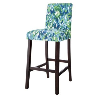 "30"" Uptown Bar Stool - Ikat Mix  Would be great in my new kitchen...the right colors :)"