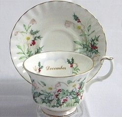 Royal Albert China - Series - Wild Flower of the Month Series