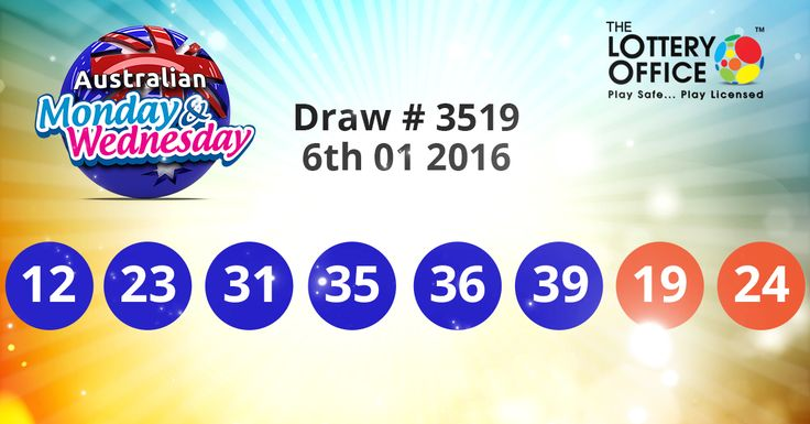 Australian Monday & Wednesday Lotto winning numbers results are here: #lotto #lottery #loteria #LotteryResults #LotteryOffice