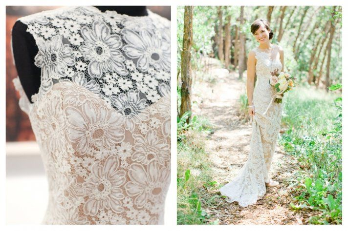 Traditional with a Twist: Spring 2014 Anna Maier Wedding Gowns - love the embroidery on the bodice