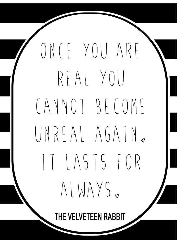 Velveteen rabbit and coloring pages ~ velveteen rabbit quote | d e s i g n s | Pinterest | To be ...