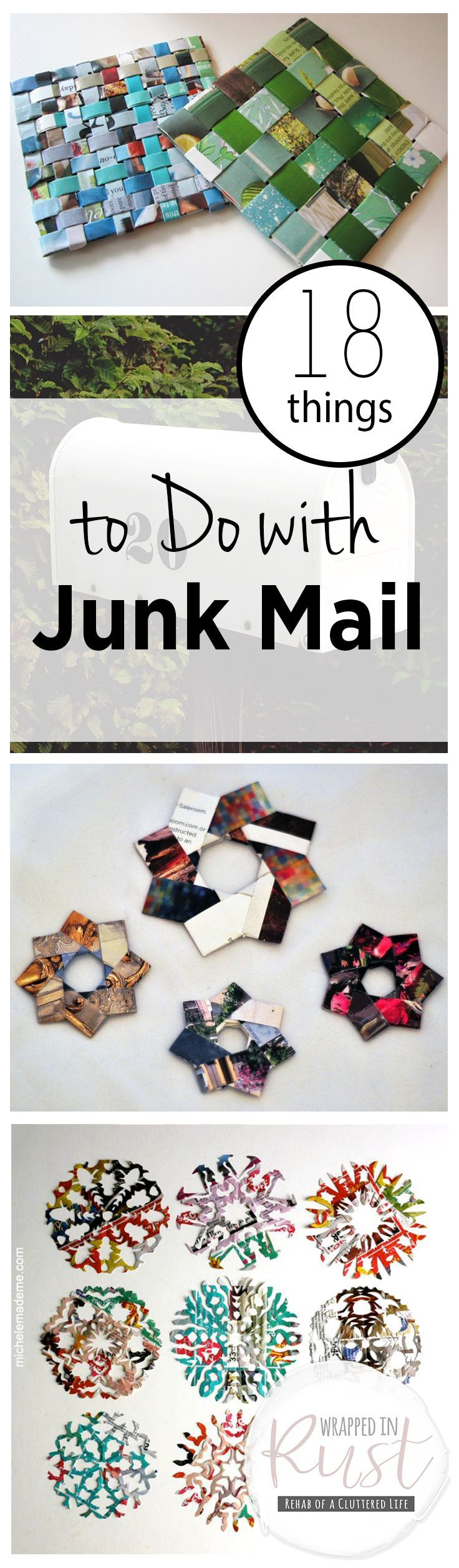 18 Things to Do with Junk Mail