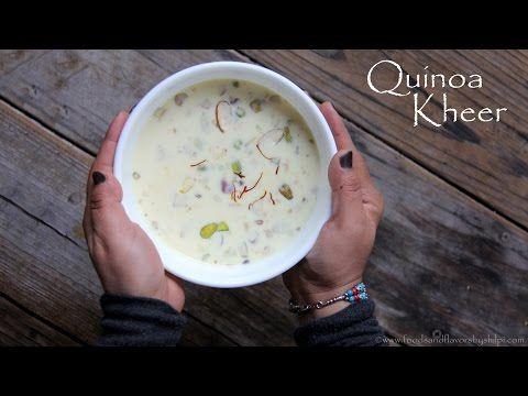 Quinoa Kheer Or  Quinoa Pudding Recipe | Easy Indian Dessert Sweets Recipes To make | Veg Recipes - http://2lazy4cook.com/quinoa-kheer-or-quinoa-pudding-recipe-easy-indian-dessert-sweets-recipes-to-make-veg-recipes/