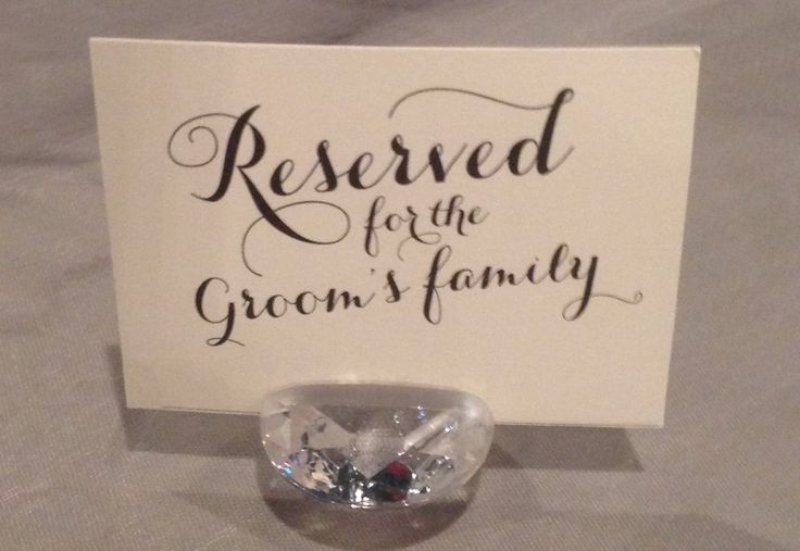 Reserved Tables