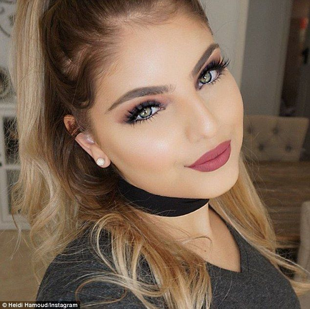 'Here's the truth': Make up artist Heidi Hamoud (above) has posted a review of the Kylie lip kits
