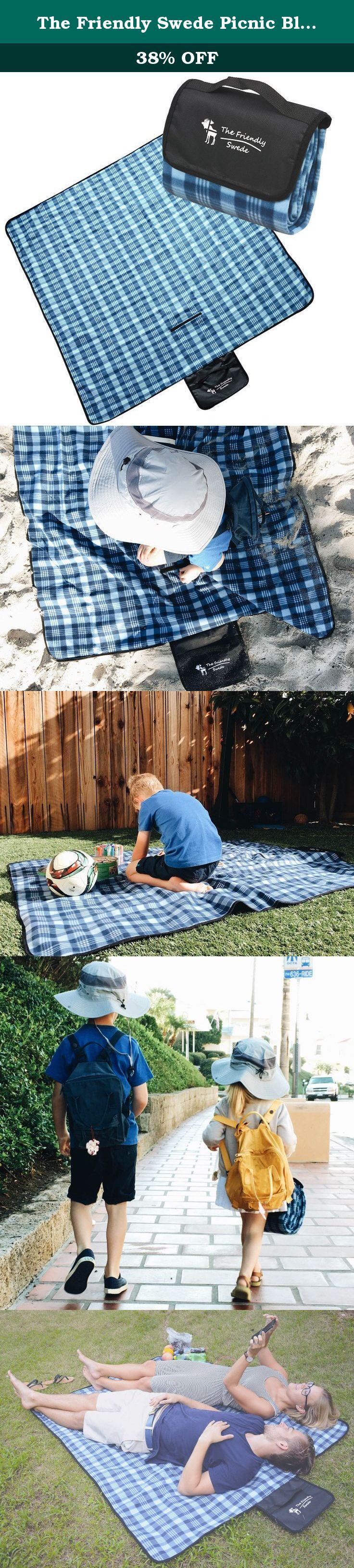 The Friendly Swede Picnic Blanket with Strap. The Friendly Swede Picnic Blanket with Strap WHEN DO YOU BENEFIT FROM A PICNIC BLANKET? - At a picnic (obviously) - At sporting events - At the beach - At outdoor concerts - In the park - Whenever you want something soft to sit on or wrap around you HOW TO FOLD YOUR BLANKET 1. Lay your blanket on the ground with the checkered side down. 2. Fold it about 20cm (8 inches) in on both sides. 3. Fold it again so one side goes over the other and the...