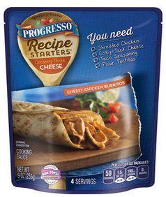 Progresso Recipe Starters Pouches for $0.37 - http://couponingforfreebies.com/progresso-recipe-starters-pouches-0-37/