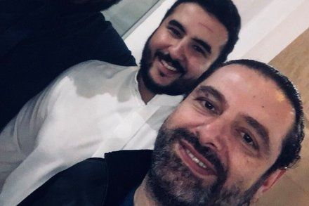 Lebanons Prime Minister Posts Smiling Selfie with Saudi Crown Prince