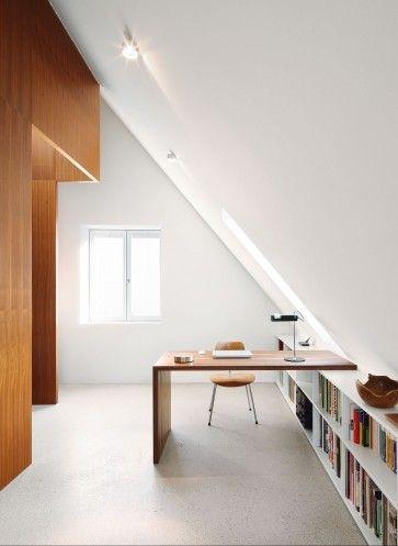 Unterm Dach liegt die Arbeits- und Schlafebene | Christine Remensperger ©Antje Quiram, Stuttgart
