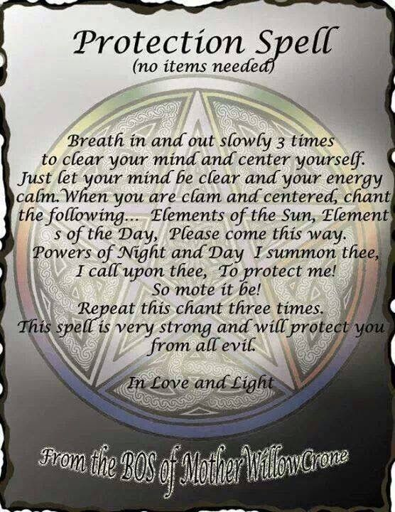 Crone Cronicles: Protection Spell