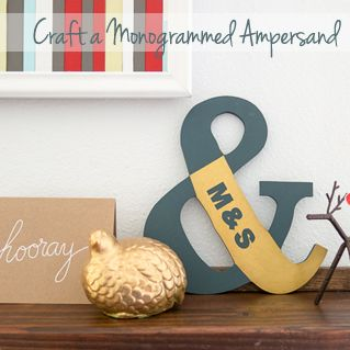 Craft a Monogrammed Ampersand