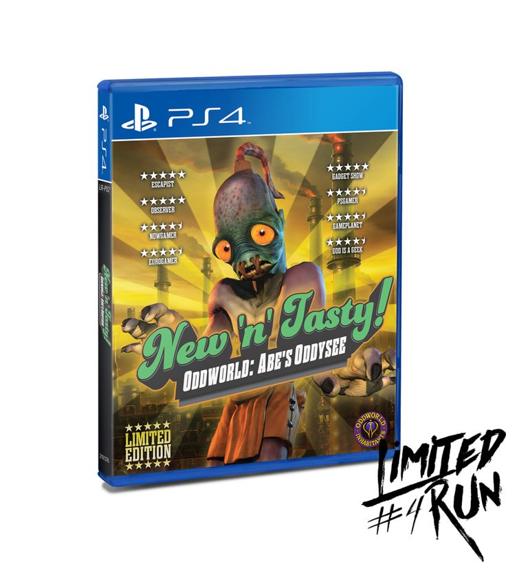 Limited Run #4: Oddworld: New N' Tasty (PS4)