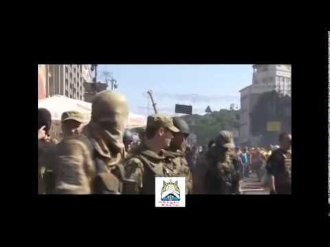 На Майдане сегодня в Киеве горят покрышки возобновились беспорядки Украи...