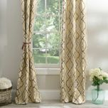 Marrakech Tan Curtain Panel Set, 84 in. | Kirklands