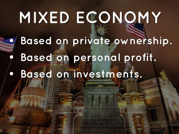 Mixed Economy (Capitalism)