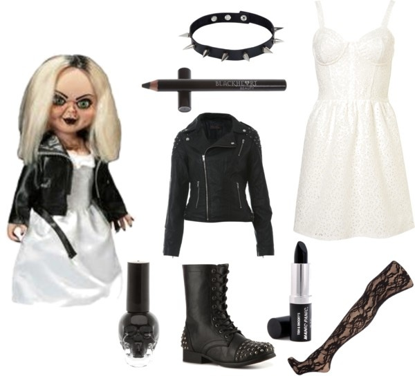 Tiffany Valentine Costume: 64 Best Images About Chucky And Tiffany / Halloween Ideas
