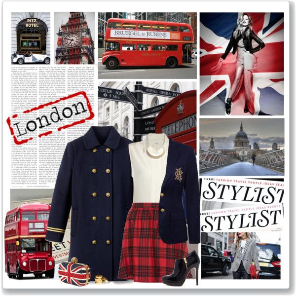 """There's nowhere else like London"" by kikusek on Polyvore"