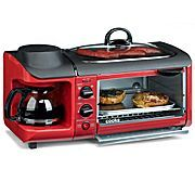 Cook's 3 in 1 Breakfast center. Coffee,toast,and griddle. Perfect for a camper