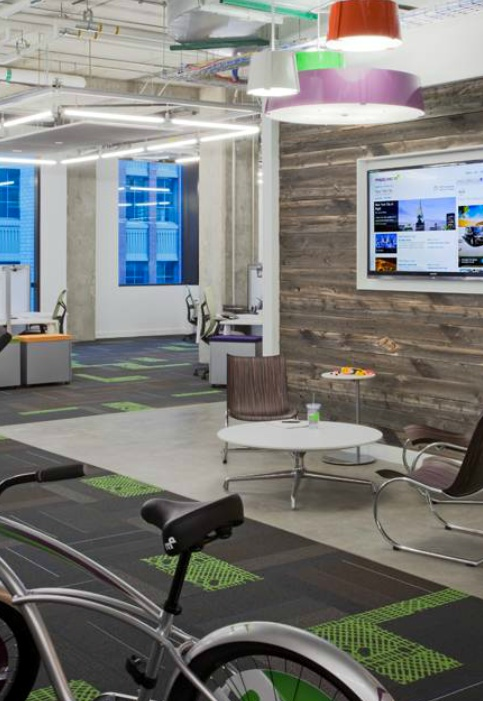 Check Out Mapquest's New, Eco-Friendly HeadquartersKalmus Offices, Favorite Places, Mapquest, Green Offices, Downtown Denver, Denver Headquarters, Eco Friends Headquarters, 17 000 Squares Foot Green, Arlo Offices